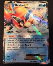 Keldeo EX 49/149 BW Boundaries Crossed Pokemon Card Holo Rare Mint