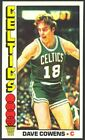 1976-77 Topps Basketball Dave Cowens #30 - Boston Celtics - Mint