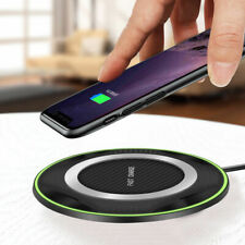 10W Qi Induction Wireless Charger Fast Charging Mat Pad For iPhone X Samsung S10