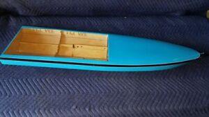 Modified Zippkits PROVEE RC Gas Boat Mono Hull Custom great 4 Zenoah 26cc engine