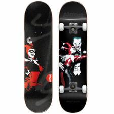 "Almost Complete Skateboard Harley Quinn 7.75"" Batman"