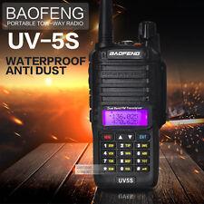Baofeng UV-5S IP67 WaterProof Antidust Walkie Talkie Dual Band Two Way Ham Radio