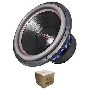 "American Bass 15"" HD Series 4000W Dual 1 Ohm Subwoofer HD-15D1-V2"