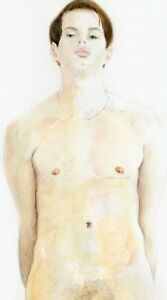 William, painting, The Art of Esteban 1/15/50 nude male