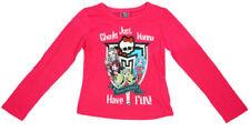 T-shirts, hauts et chemises roses manches longues pour fille de 14 à 15 ans