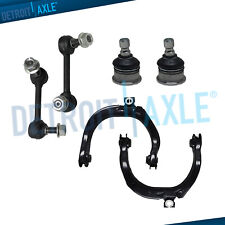 6pc Front Upper Control Arms & Ball Joint for 04-07 Chevy Trailblazer GMC Envoy