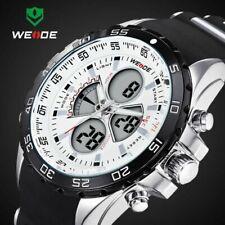 Led Digital Quartz Watches Men Military Sports Watch Waterproof WEIDE Wristwatch