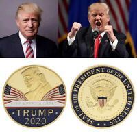Donald Trump 2020 Keep America Great -Presidential Seal Gold Challenge Coin Gift