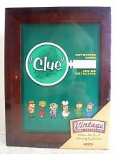 New Clue 2016 Vintage Library Bookshelf Game Collection Hasbro Wooden Box Sealed