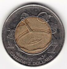 1999 Canada $2 Coin - Nunavut