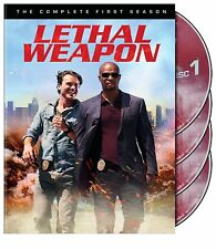 Lethal Weapon : The Complete First Season 1 (DVD, 2017, 4-Disc Set)