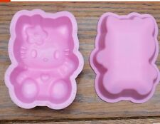 Silikonform Tortendeko Veiner mold Fondant Seife Schokolade Hello Kitty Katze
