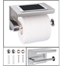 Toilet Paper Roll Holder 304 Stainless Steel Bathroom bedroom Phone Wall Mount