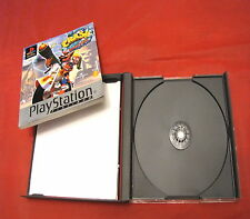 RICAMBI Gioco per Playstation 1 Crash bandicoot 3 Warped solo manuale e custodia