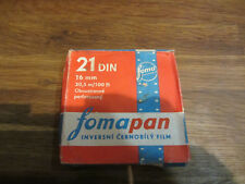FOMAPAN 16mm 21DIN 30,5m/100ft Black & White Inversion film NEW EXPIRIED