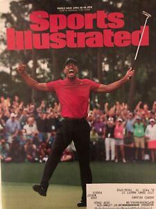 SPORTS ILLUSTRATED MAGAZINE APRIL 2019 TIGER WOODS MASTERS HISTORIC WIN