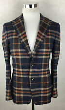 Suitsupply Hudson Blazer 38 Short Plaid Check Suit Supply Sportcoat Jacket 38S