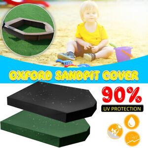 Dustproof Outdoor Boat Shaped Garden Kid's Toy Bunker Sand Pit Cover   D2