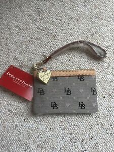 Dooney & Bourke medium wristlet New With Tags