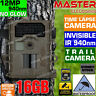 Trail Camera Home Security Hunt Scouting Cam Waterproof IR 940nm (No Spy Hidden