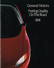 1991 GM General Motors Brochure/Catalog;CHEVY,CADILLAC,BUICK,OLDSMOBILE,PONTIAC,