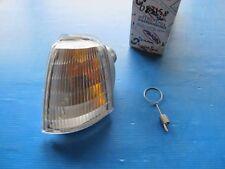 Clignotant avant gauche cristal sans porte-lampe Scintex pour Renault R19