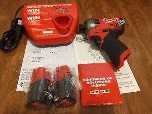 Milwaukee 2551-22 M12 Fuel Brushless Surge 12V Hex Hydraulic Driver Kit