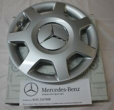 Genuine Mercedes-Benz W169 A-Class X1 Centre Hub Cap / Wheel Trim A1694000925