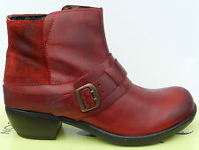 Fly London Mont Chaussures Femme 41 Bottines Montantes Ankle Boots Motard Mel