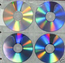 800  White 8 Disc CD DVD Binding  Sleeve  Holder SF005