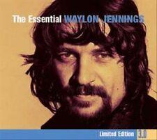 WAYLON JENNINGS - The Essential Waylon Jennings [Lim. Edition 3.0 [Digipak] MINT