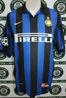 maglia calcio INTER BAGGIO TG L 1998/99 shirt maillot trikot camiseta