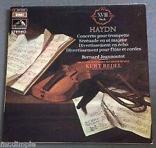 HAYDN LP Concerto pour trompette Bernard Jeannoutot KURT REDEL EMI 2C 061-11333