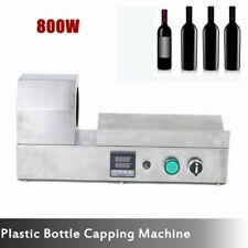 Pvc Heat Shrinkable Plastic Bottle Capping Machine Capper for Wine Bottle Smj-70