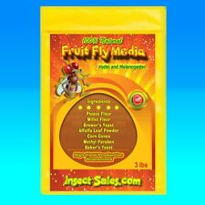 Fruit Fly Media (3 Lbs.) for Hydei and Melanogaster Fruit Flies 100% Organic