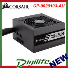 Corsair CXM Series Modular CX650M 650W 80 Plus Bronze Certified Power Supply PSU