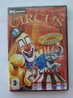 JEU PC CD-ROM   CIRCUS TYCOON  PINDER - neuf sous blister