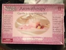 Candle Magic Aromatherapy Candle & Soap Making Kit Sensual Floral New Sealed