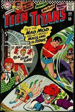 TEEN TITANS #7 (1967) FN- 5.5  ROBIN, AQUALAD, KID FLASH, WONDER GIRL