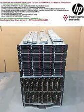 HP C7000 8Gbit 79.2TB SAN Solution 16x HP BL460c G6 X5550 128-Core 512GB RAM