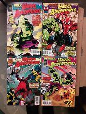 B535 Marvel Adventures 4 Book Run  # 1,2,3,4  HULK, SPIDER-MAN, X-MEN  NM/UNREAD