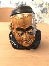 Vintage Smoking Man Tobacco Jar Excellent Conditon England