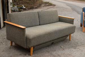 alte couch 50er 60er 70er jahre sofa rockebilly mid century design loft retro