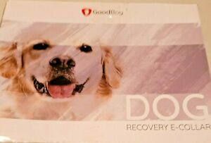 """DOG RECOVERY COLLAR 12""""-13"""" NECK-OPEN BOX"""