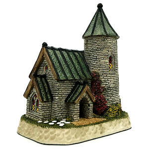 David Winter Cottages The Kirk Neptunes Collection FDW 20 Coa No Box Perfect