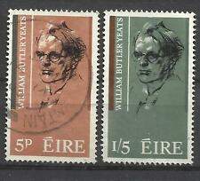 Q502B-LOTE SELLOS IRLANDA SERIE COMPLETA AÑO 1965 Nº171/2 YVERT.VALOR 4,00€,