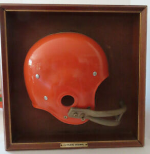 1970s Cleveland Browns Riddell Football Helmet Wall Plaque