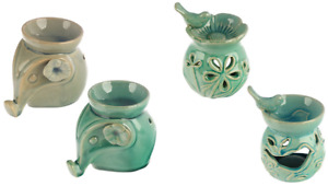 CERAMIC OIL / WAX BURNER WARMER FRAGRANCE 50% OFF NOW