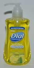 DIAL COMPLETE LEMON & SAGE LIQUID HAND SOAP WASH ANTIBACTERIA 7.5OZ