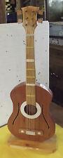 Ancienne et Belle Guitare de Décoration Bois Vintage Réaliste 1970